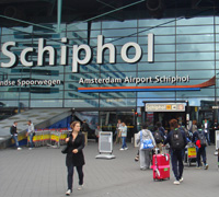 写真:アムステルダムスキポール空港の写真