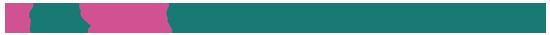 イラスト:目からウロコちゃん~レシピ挑戦者の感想~ピンクと緑を基調にしたロゴ