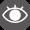 イラスト:視覚障がい者を表すピクトグラム