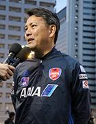 写真:日本代表高田敏志監督
