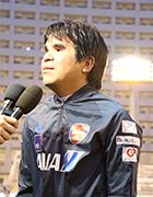 写真:日本代表田中章仁選手