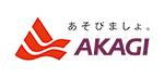 写真:あそびましょ。AKAGIのロゴ。